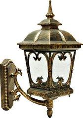 Светильник садово-парковый, 100W 230V E27 черное золото, PL135 (Feron)