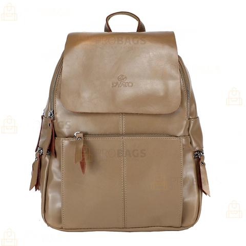 Рюкзак женский PYATO K-1988 Бежевый