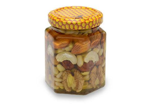 Орехи в меду фермерские, 200мл