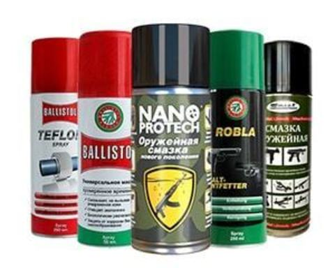 Купить масла для смазки и чистки оружия