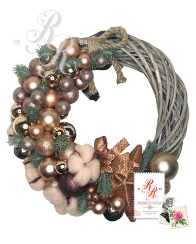 Рождественский венок 16