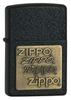 Зажигалка ZIPPO Black Crackle латунь/порошковое покрытие (362) зажигалки zippo z 362