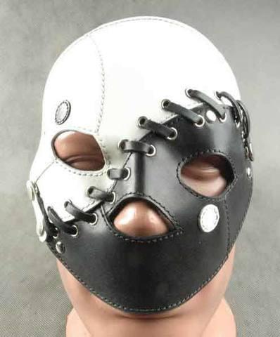 БДСМ Маска-шлем на 2 лица (переменная)