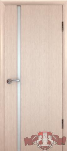 Дверь 8ДГ5 бел. Трипл. (беленый дуб, глухая шпонированная), фабрика Владимирская фабрика дверей