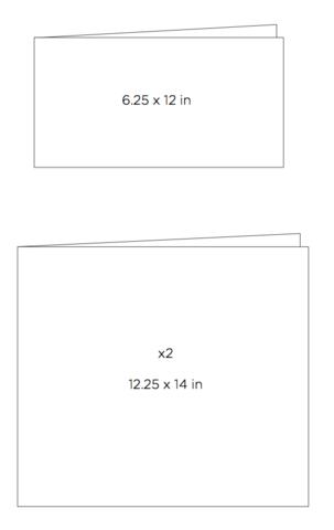 Набор папок для фольгирования Transfer folders для MINC от Heidi Swapp- 31х35см и 16х31см.