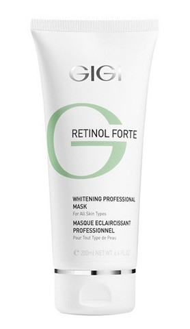 GIGI Retinol Forte Peeling Mask - Маска отбеливающая отшелушивающая