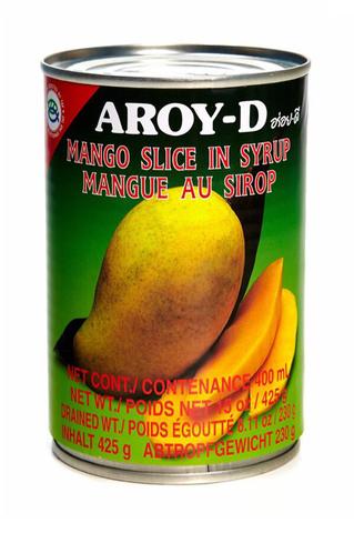 Манго дольки в сиропе Aroy-D 425гр