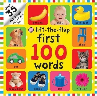 Kitab First 100 Words: First 100 Lift the Flap | Roger Priddy