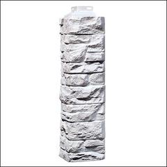 Наружный угол для фасайдинга FineBer Дачный Скала Белый