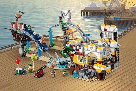 Конструктор BELA Create 11055 Пиратские горки
