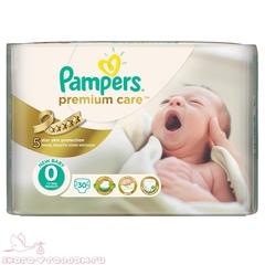 Pampers. Подгузники Premium Care Newborn (1-2,5 кг), 1уп/30 шт