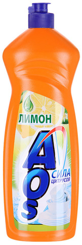 """Средство для мытья посуды """"AOS"""" Лимон 1л"""