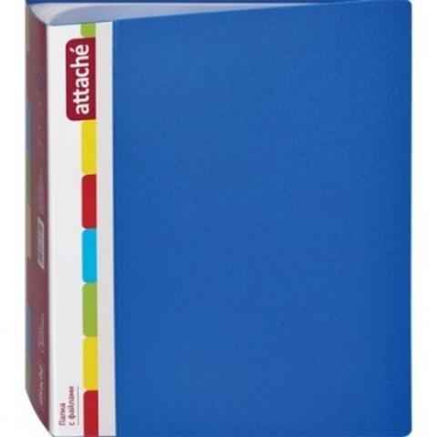 Папка файлов ATTACHE KT-100/1 синяя Россия