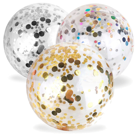 Шар-сфера Баблс (Bubble) с конфетти