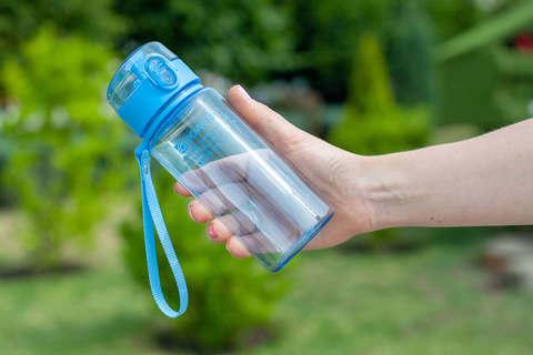 Бутылка для воды Powcan 400 мл - Blue глянцевая