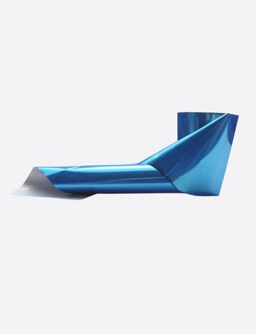 Фольга металлик ультрамарин тонкая 1м х 5см