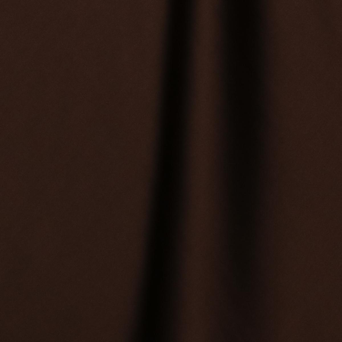 Шелковый стретч-атлас шоколадного цвета