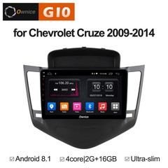 Штатная магнитола на Android 8.1 для Chevrolet Cruze 09-12 Ownice G10 S9222E