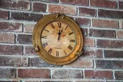 Настенные часы # 2220 — античная медь