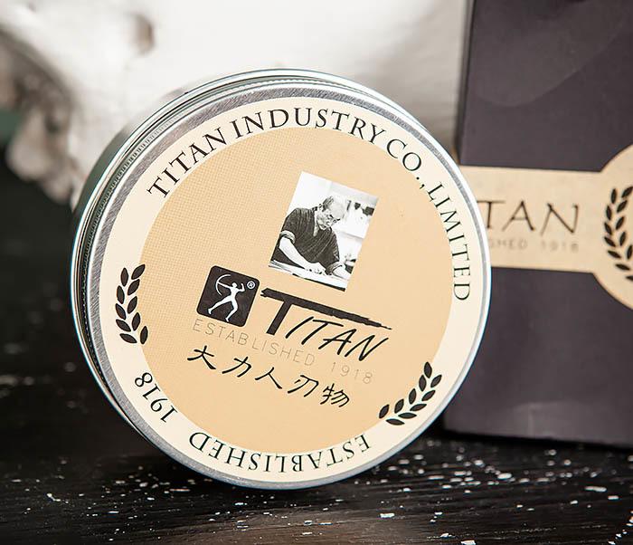 RAZ478 Натуральное мыло для бритья «Titan» (200 гр)