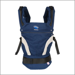 Слинг-рюкзак Manduca Baby Carrier New Style Navy (Синий)