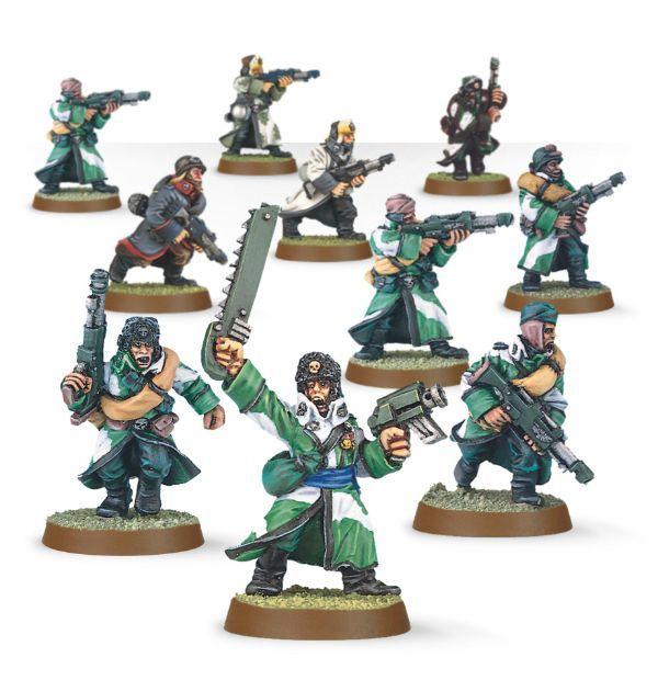 Valhallan Squad. Весь отряд