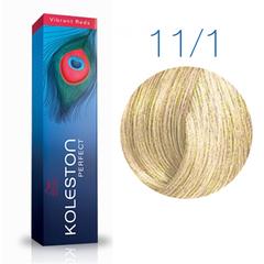 Wella Professional KOLESTON PERFECT 11/1 (Экстра яркий блонд, пепельный) - Краска для волос
