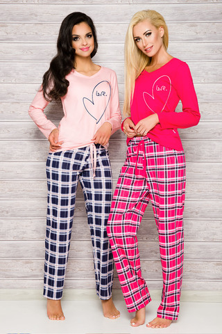 Пижама 7W Ida 2121 Dark Pink Taro