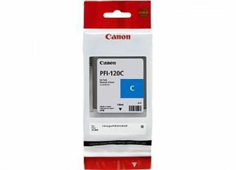 Картридж Canon PFI-120C cyan - голубой, 130 мл (2886C001)