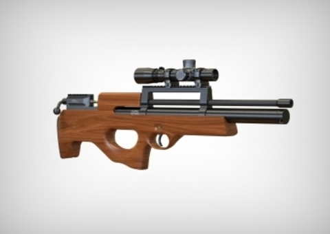 Пневматическая винтовка Ataman ML15 Булл-пап 5,5 мм (Дерево) (B15/RB)
