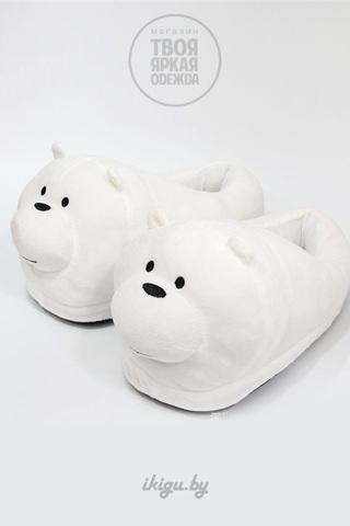 """Тапочки """"Белый Мишка"""""""