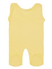 461318-4 ползунки детские, желтые