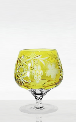 Фужер для бренди 300мл Ajka Crystal Grape янтарный
