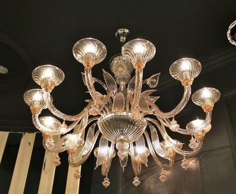 murano chandelier  SYLCOM 12-11  by Arlecchino Arts ( HK)