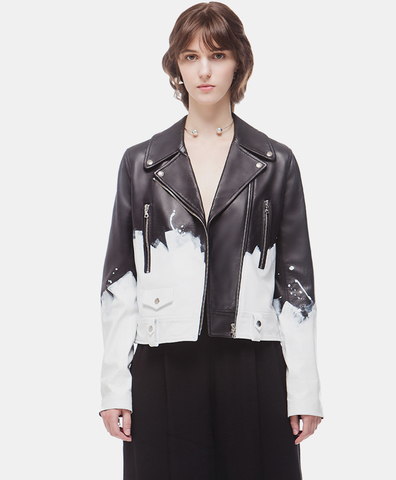 Кожаная куртка DUO Moto Jacket