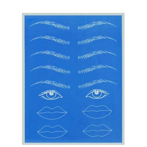 Коврик брови/глаза/губы