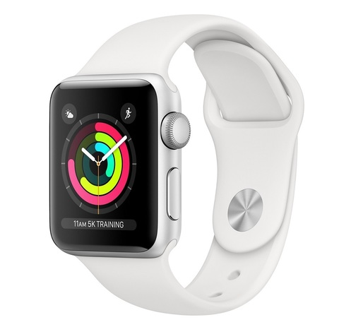Apple Watch Series 3, 42 мм, Silver