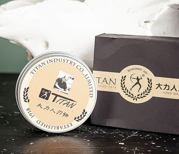 RAZ478 Натуральное мыло для бритья «Titan» (200 гр) фото 02