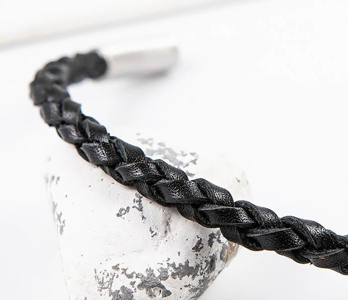 BL786-1 Браслет из кожаного шнура ручного плетения фото 03
