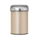 Мусорный бак Touch Bin (3 л), артикул 304668, производитель - Brabantia