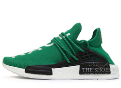 Кроссовки Мужские ADIDAS NMD x Pharrell Williams NMD Human Race Green White