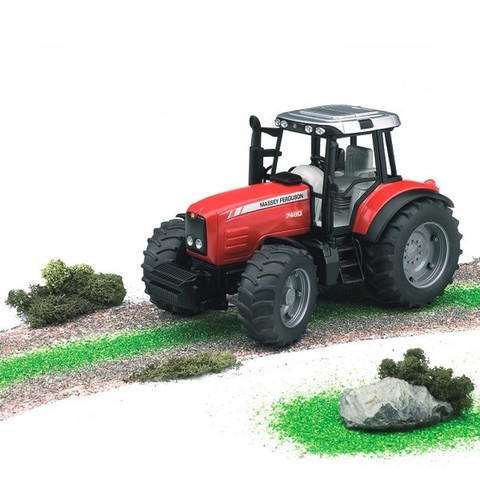 Bruder: Трактор Massey Ferguson 7480, 02-040