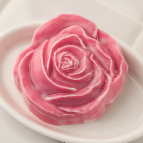 Мыло цветок Розы. Форма