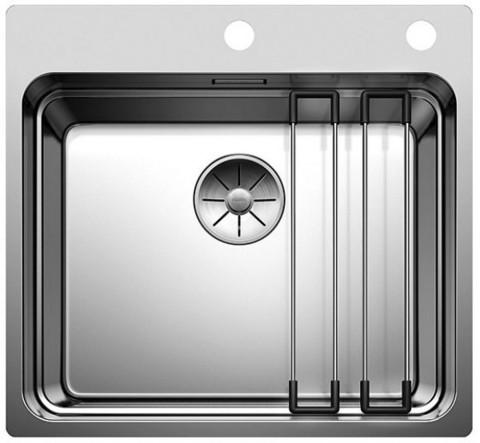 Кухонная мойка Blanco ETAGON 500 - IF/A, клапан-автомат, нержавеющая сталь