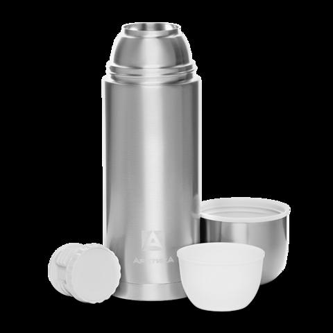 Термос Арктика (1 литр) с узким горлом, стальной