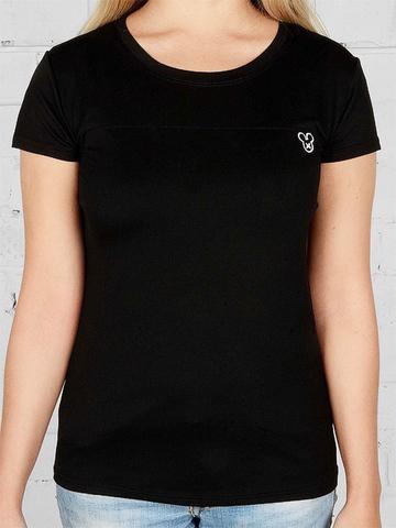 1609-3 футболка женская, черная
