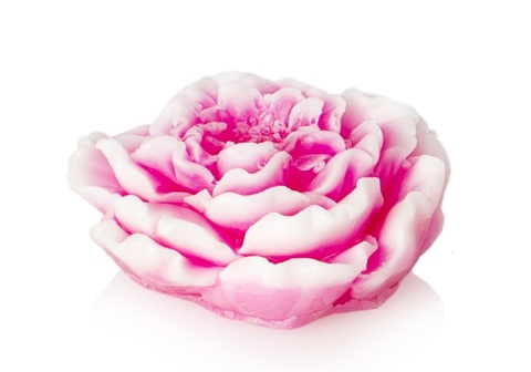 Мыльное ассорти/цветок3D: ПИОН, 90 гр/шт