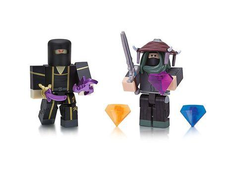 Набор фигурок Роблокс Адам и Ниндзя: Мастер Клана Инь - Roblox Adam and Ninja Assassin, Jazwares