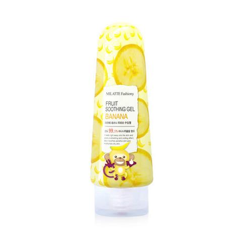 Гель MILATTE Fashiony Fruit Soothing Gel Banana 200g