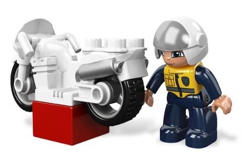 LEGO Duplo: Полицейский мотоцикл 5679